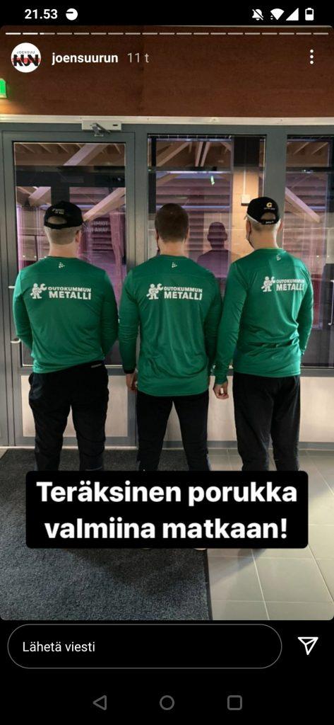 somesta bongattua_Joensuu Run